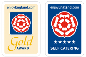 5 Star Gold Award Cyclists Welcome Walkers Welcome